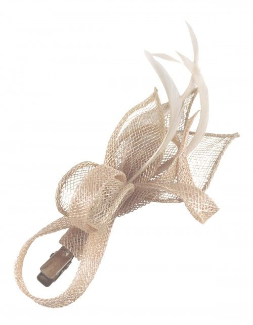 Latest Fascinators: Elegance Collection Small Sinamay Clip Fascinator (Price: £12.99)