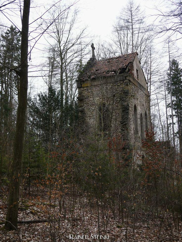 Gotische Kapellenruine bei Schloss Greifenstein - Fränkische Schweiz