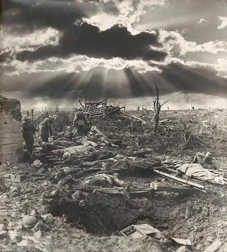 Batalla de Passchendaele - Frank Hurley