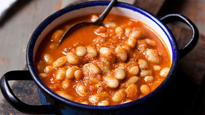 Homemade Baked Beans - Get this recipe and loads of other mint tips with our Diet Club! Join Now!