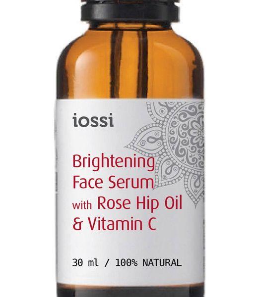 Rozświetlajace serum do twarzy z olejem z dzikiej róży i witaminą C.  Delikatne dobrze przyswajalne Serum. Wspiera naturalny proces regeneracji skóry wygładza ja i wyrównuje jej koloryt. Pozostawia skórę rozświetloną, odżywiona i naprężoną. Serum zrobione jest z oleju z Dzikiej Róży będącego silnym antyoksydantem, oleju z Kiełków Pszenicy przyspieszającego odbudowę zniszczonego naskórka i oleju Squalane  który przywraca skórze sprężystość i elastyczność. Wysoka zawartość wItaminy C i E ...