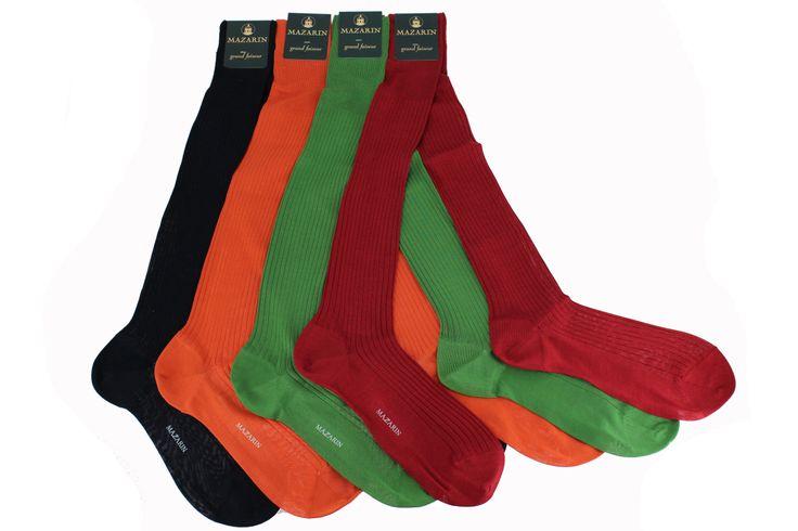 Gamme de chaussettes Mazarin en soie #chaussette #mazarin #meschaussettesrouges #soie