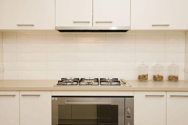 Kitchen Tiles Stacked Subway Tile Gloss White 300 X
