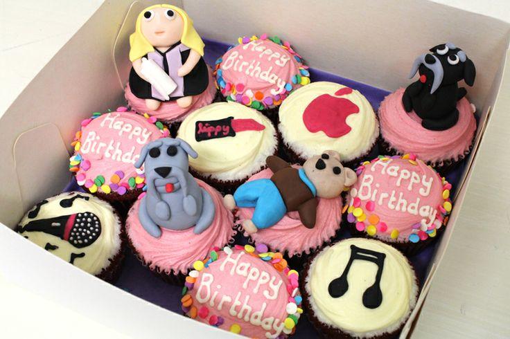 Favourite Things cupcakes by Sweet Bakery & Cakery, Wellington, NZ (www.sweetbakery.co.nz)