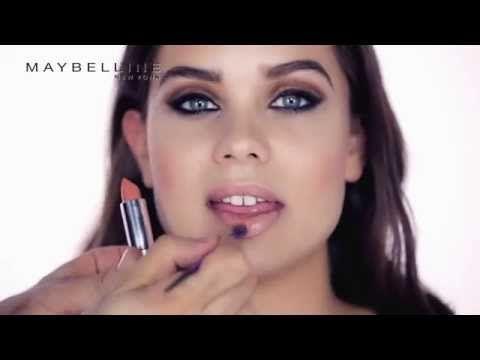 Look Maquillaje Años 70 con Maybelline New York. - YouTube