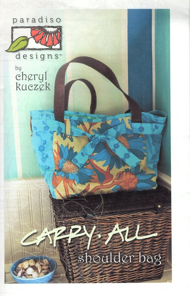 169 besten Handbag Purse Tote Sewing Pattern Bilder auf Pinterest ...