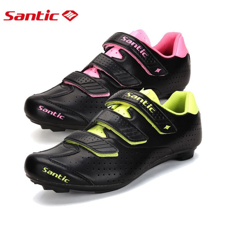 Professional Woman Road Bike Cycling Shoes Lock Shoes Bicycle Shoes Zapatillas Ciclismo Carretera Breathable Unisex
