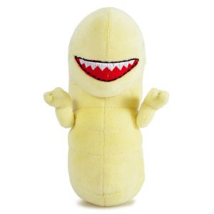 Alien Chestburster Plush Toy Curl up with this vulnerable little PHUNNY plush now because one day he could grow up to literally bite off your head.