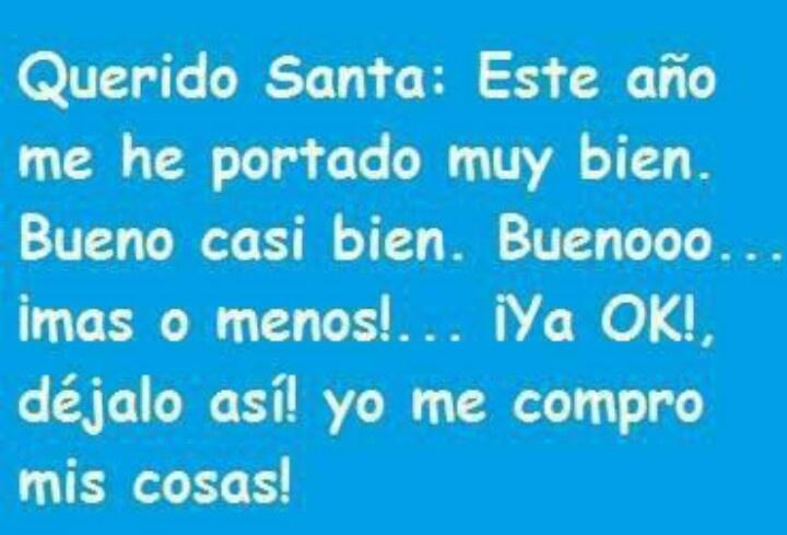 .Querido Santa