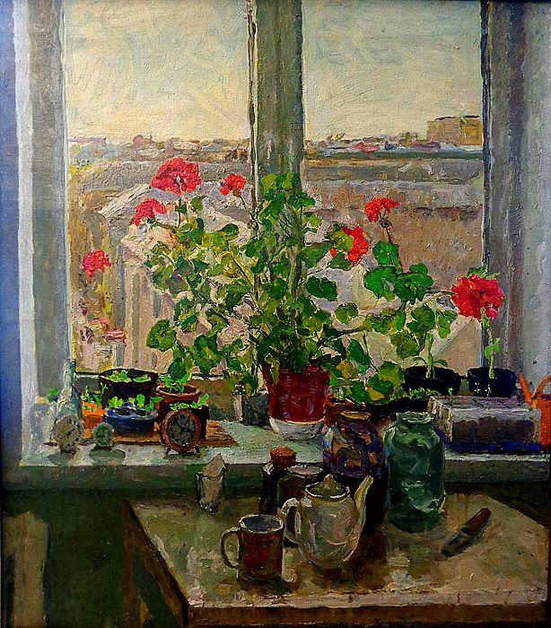Художник Михайлов открыл миру лица девчонок-прядильщиц, называя их цветами