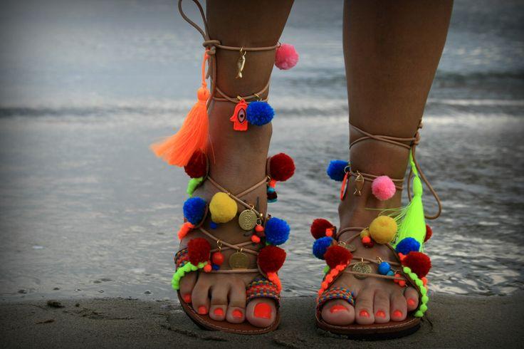 Astypalaia : Boho Lace up