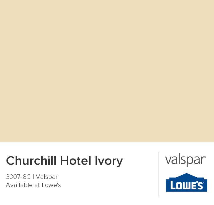 Churchill hotel ivory from valspar living room for Is valspar good paint