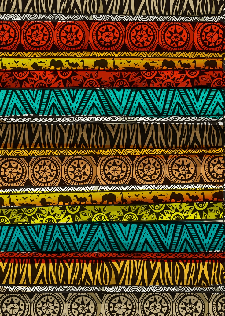 african tribal patterns - 736×1030
