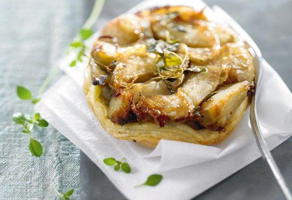 Recette de tarte tatin d'artichauts avec astuces de Lignac