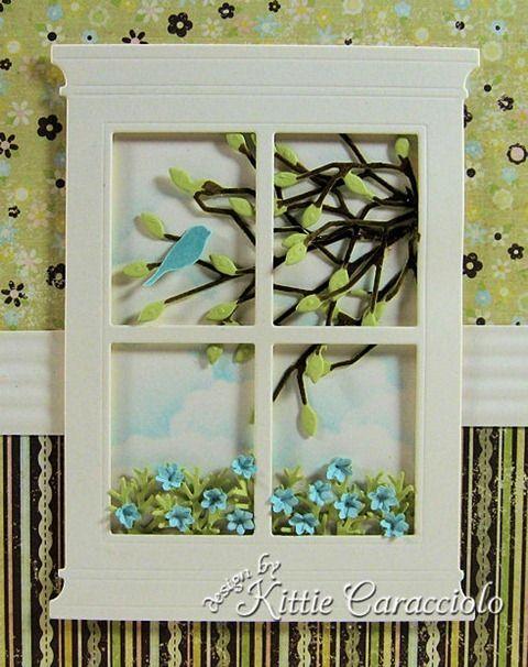 Kittie Kraft... Poppy Stamps Grand Madison Window