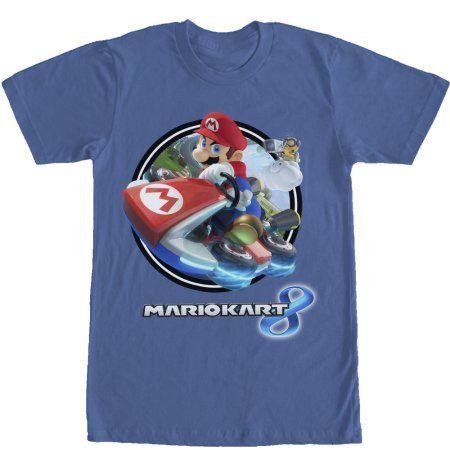 Nintendo Mario Kart 8 Mens Graphic T Shirt