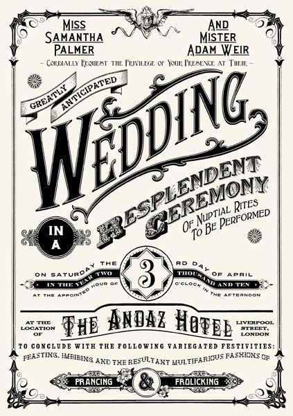 #5 Desain Undangan Pernikahan