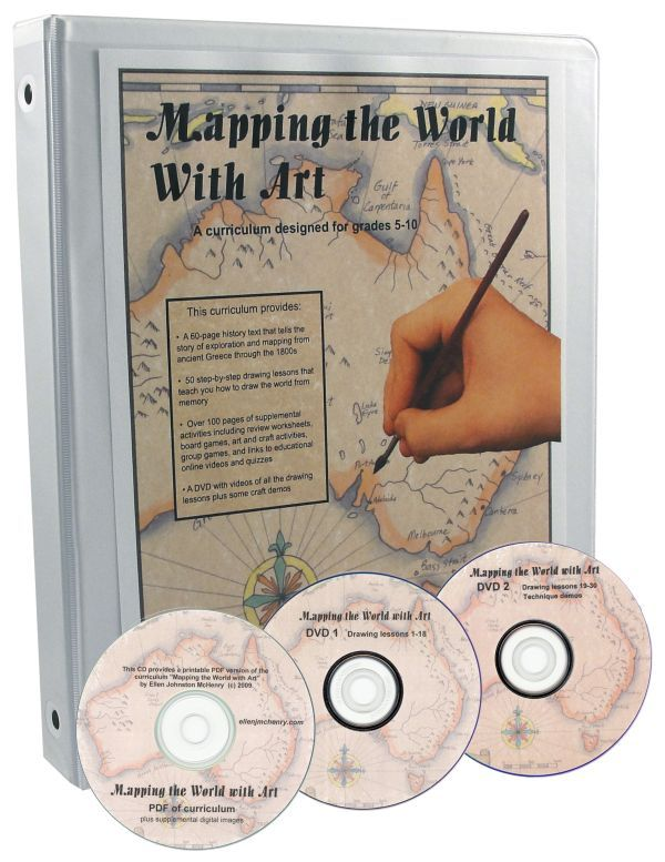 Ive Not Tried This But Sounds Interesting Mapping The World With Art Book W CD DVDs