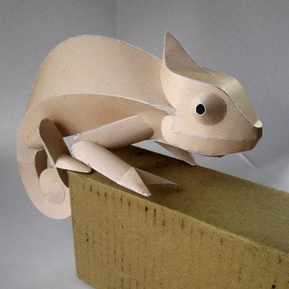 Arco de la artesanía de camaleón formas de por PAPERESKshop