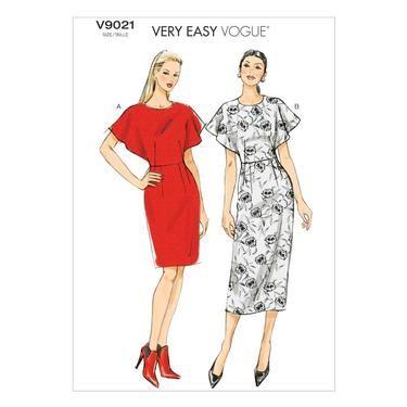 Vogue V9021 Misses' Dress