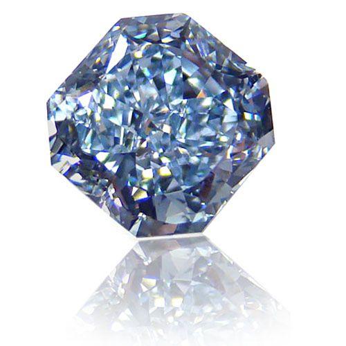 1.16ct. Radiant FANCY INTENSE BLUE (FLAWLESS) Diamond