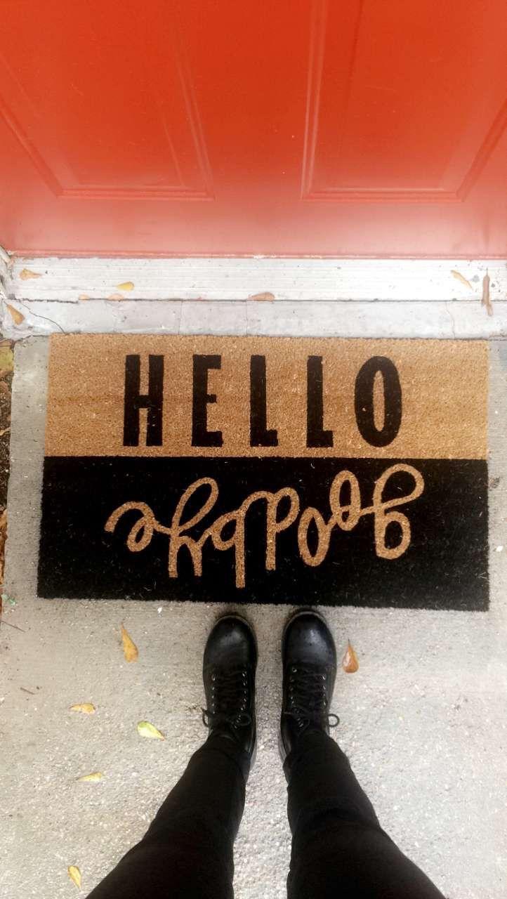 Welcome mat!