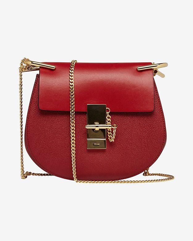 chloe red bag