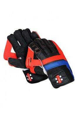 Pair of Black and Red Wicket Keeper Gloves for Men #wicketkeepinggloves #keepingglovesonline #cricketaccessories #cricketequipments #onlinekeepinggloves #menkeepinggloves #sportsaccessories Shop here-  https://trendybharat.com/sports/cricket/keeping-gloves/gray-nicolls-wg-maverick-f1-gn7-wicket-keeper-gloves-size-mens-wicketkeepergloves-gray-nicolls-wgmaverickf1gn7-na-mens