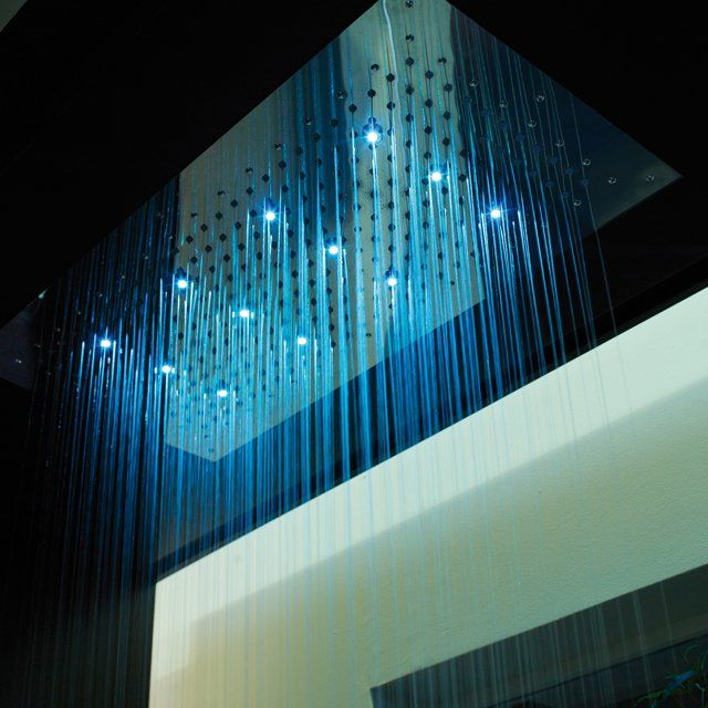 LED Shower Head Design