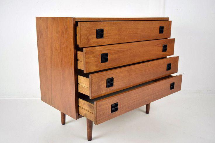 Danish Mid-Century Modern Chest of Drawers on Chairish.com