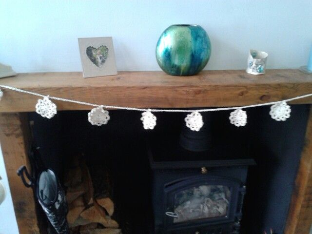 Crochet garland by chloes patch
