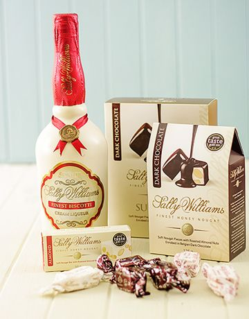 Sally Williams Nougat and Biscotti Liqueur Gift