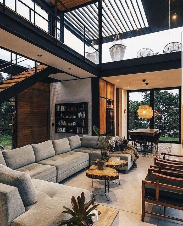 37 Stylish Design Pictures: 37 Earthy Modern Interior House Design For Living Room