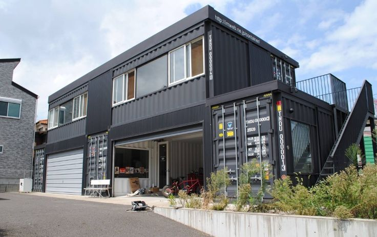shipping container home tron