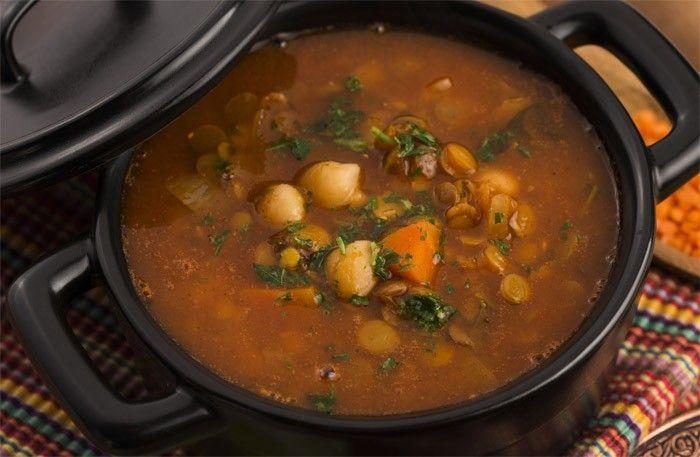 Harira - marockansk linssoppa recept