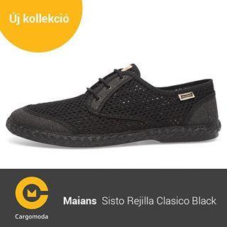 Maians Sisto Rejilla Clasico Black- Megérkezett az új tavaszi-nyári Maians kollekció! www.cargomoda.hu #cargomoda #maians #madeinspain #handcrafted #springsummercollection #spring #summer #mik #instahun #ikozosseg #budapest #hungary #divat #fashion #shoes