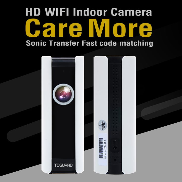 Toguard AP408 Mini HD Wifi Video Surveillance Camera Home Baby Monitor IP Camera