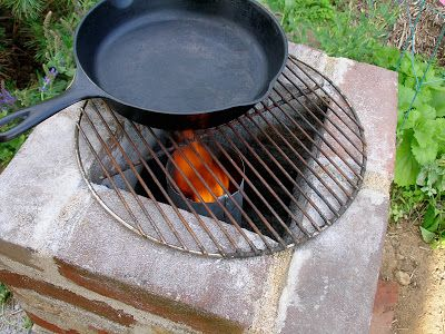 Living the Frugal Life: We Built a Rocket Stove!