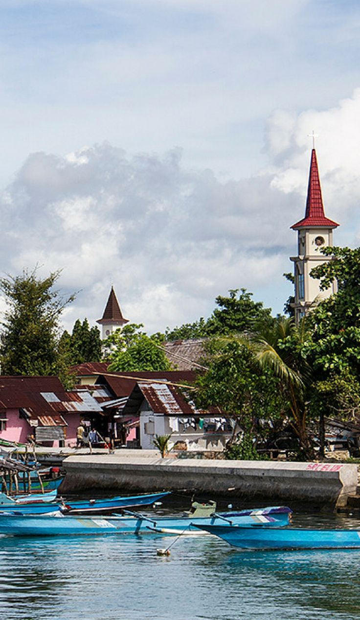 Visit the Indonesian Spice Islands of Saparua and Ambon