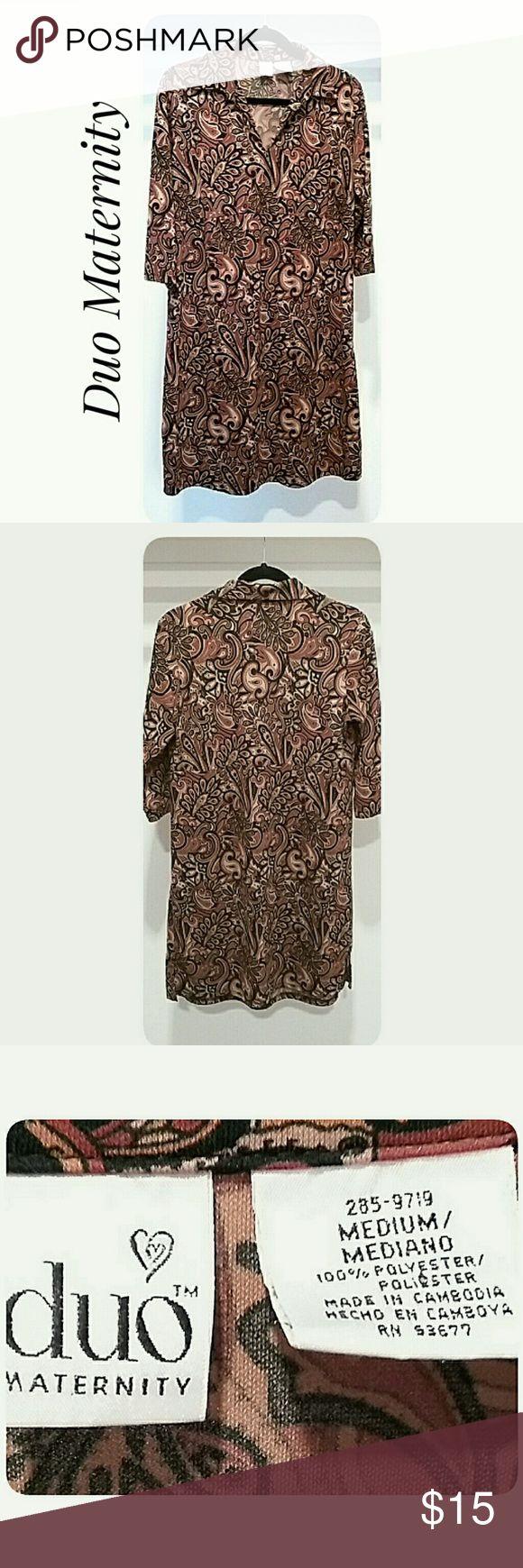 The 25 best brown maternity dresses ideas on pinterest duo maternity shift dress size medium ombrellifo Choice Image