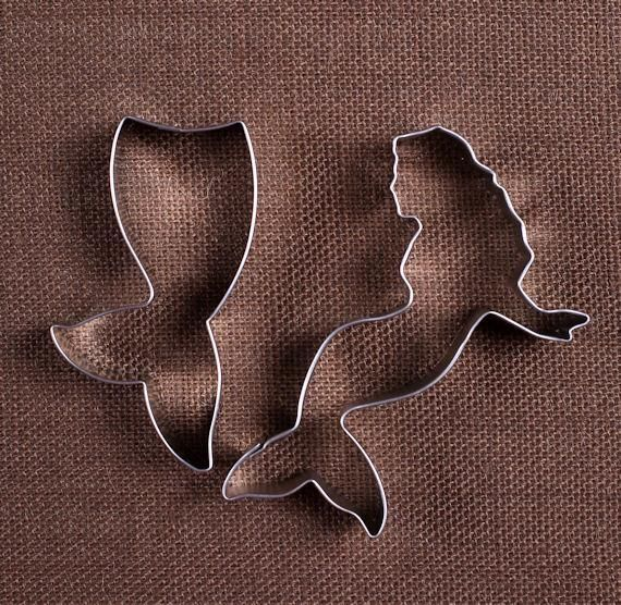 Mermaid Cookie Cutter Set | www.bakerspartyshop.com