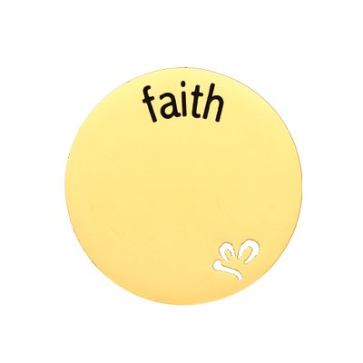 'Faith' Statement Plate
