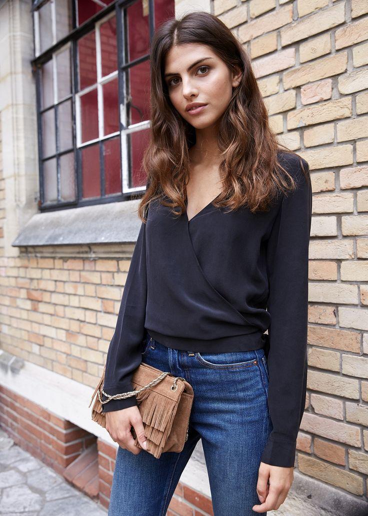 S zane blouse ella look d 39 hiver pinterest sezane - Look bureau femme ...