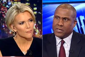 "Watch Tavis Smiley brilliantly deflect Fox News talking points on race on ""The Kelly File"""