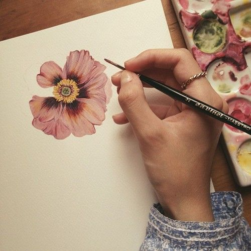 Even more #flower #botanical #painting #pollyfern #watercolour...