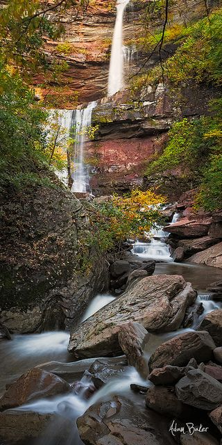 Kaaterskill Falls, North-South State Park, Catskill Mountain Preserve, New York; photo by Adam Baker