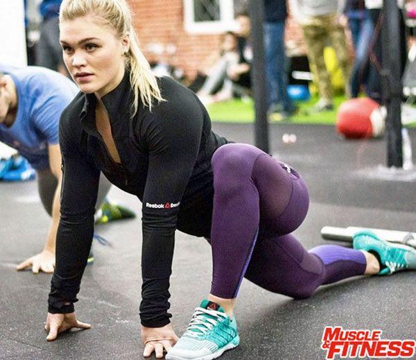 """""""Největší adaptace k tréninku probíhá mezi ušima (v hlavě).""""  KATRIN DAVIDSDOTTIR, vítězka CrossFit Games 2015 a 2016"""