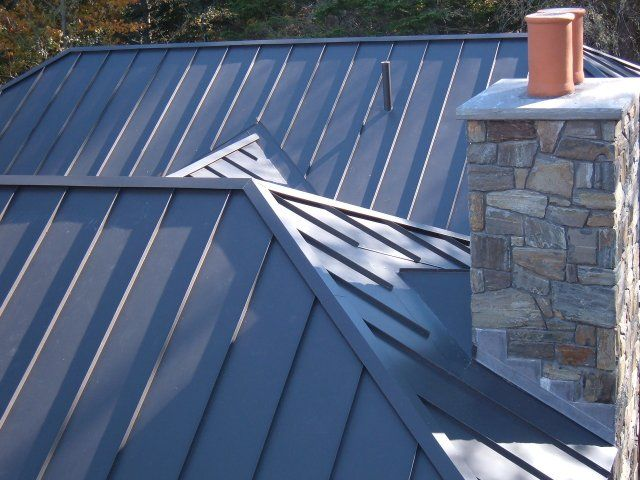 Standing Seam Metal Roofs By C O Beck Sons Roofing Sheet