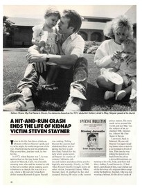 A sad end to an abductee's life...Steven Stayner... R.I.P.