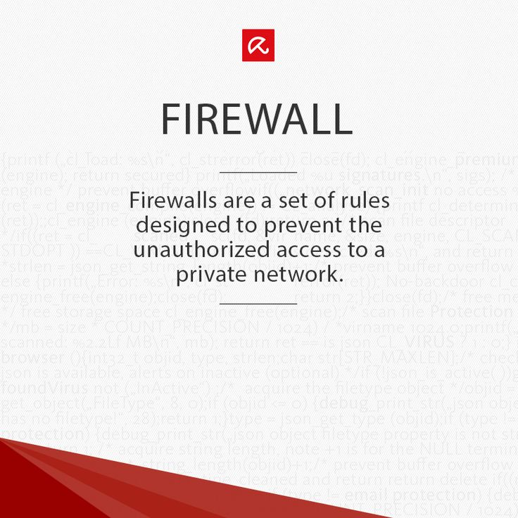 Wondering what a #Firewall is? Find out more in our glossary! #ITSecurity #infosec